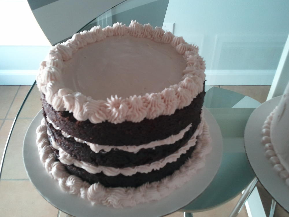 my first 3 layer cake