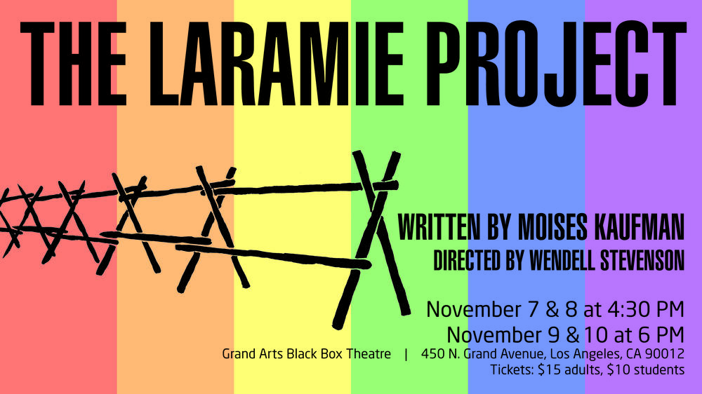 Theatre production The Laramie Project