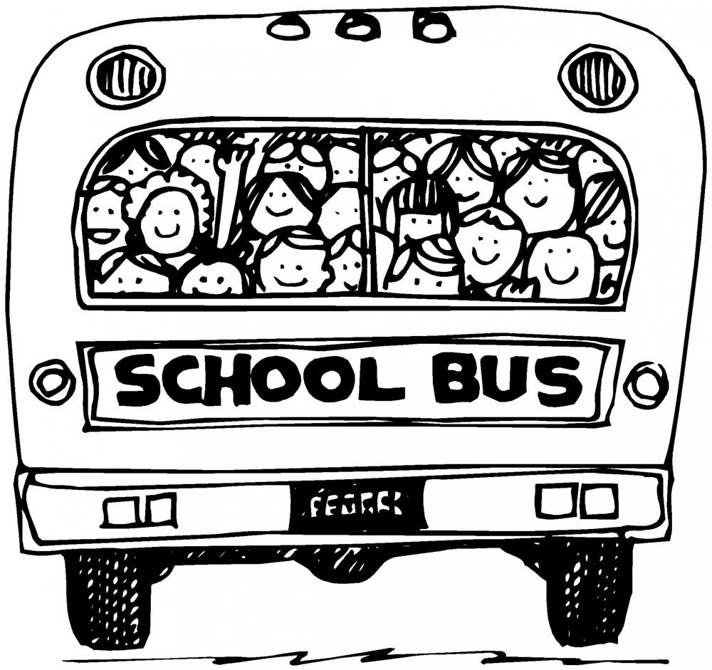 students on a school bus