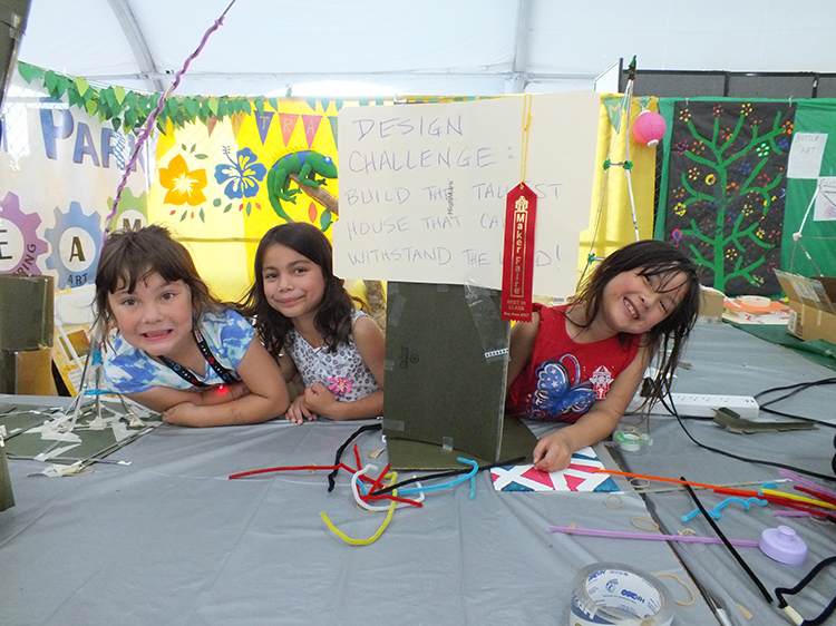 Central Park Best In Class for Youth Exhibits, Maker Faire 2017