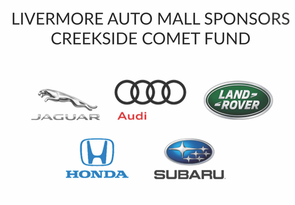 Livermore Auto Mall Sponors Creekside Comet Fund