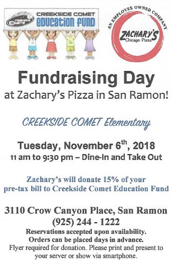 Fundraising Day Flyer Image