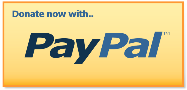 One time PayPal donation