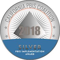 PBIS Coalition Silver medal 2018