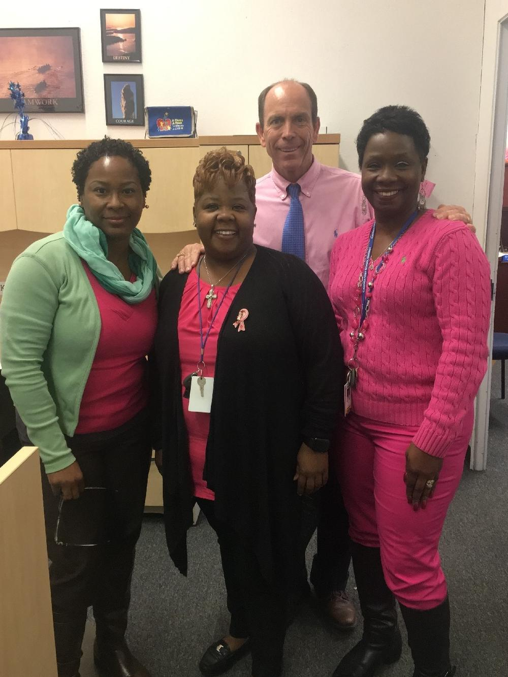 Pink out for Breast cancer