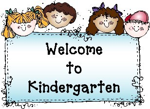 Kindergarten Welcome Sign
