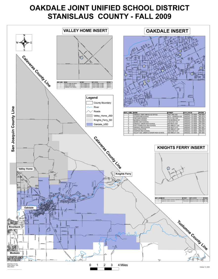 OJUSD Boundary Map