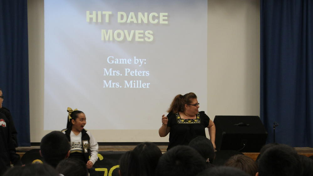 Game by teachers and students
