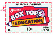 Box tops icon