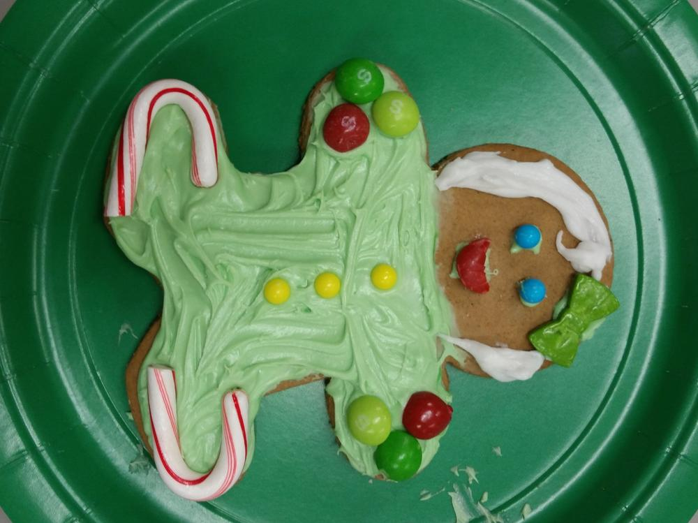 We had so much fun designing and decorating our gingerbread people! The  creativity was inspiring!