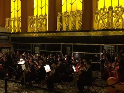 Chamber orchestra at Paramount tTheater