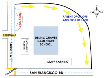 Pickup Drop-off map