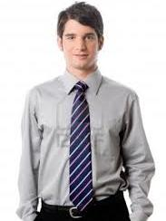 Shirt and tie only