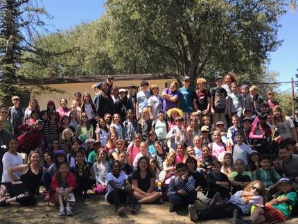 5th Grade students arrive at Astro Camp
