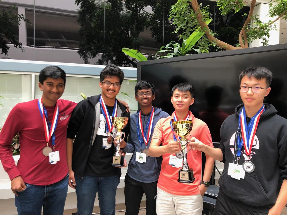 CodeQuest Competition winners