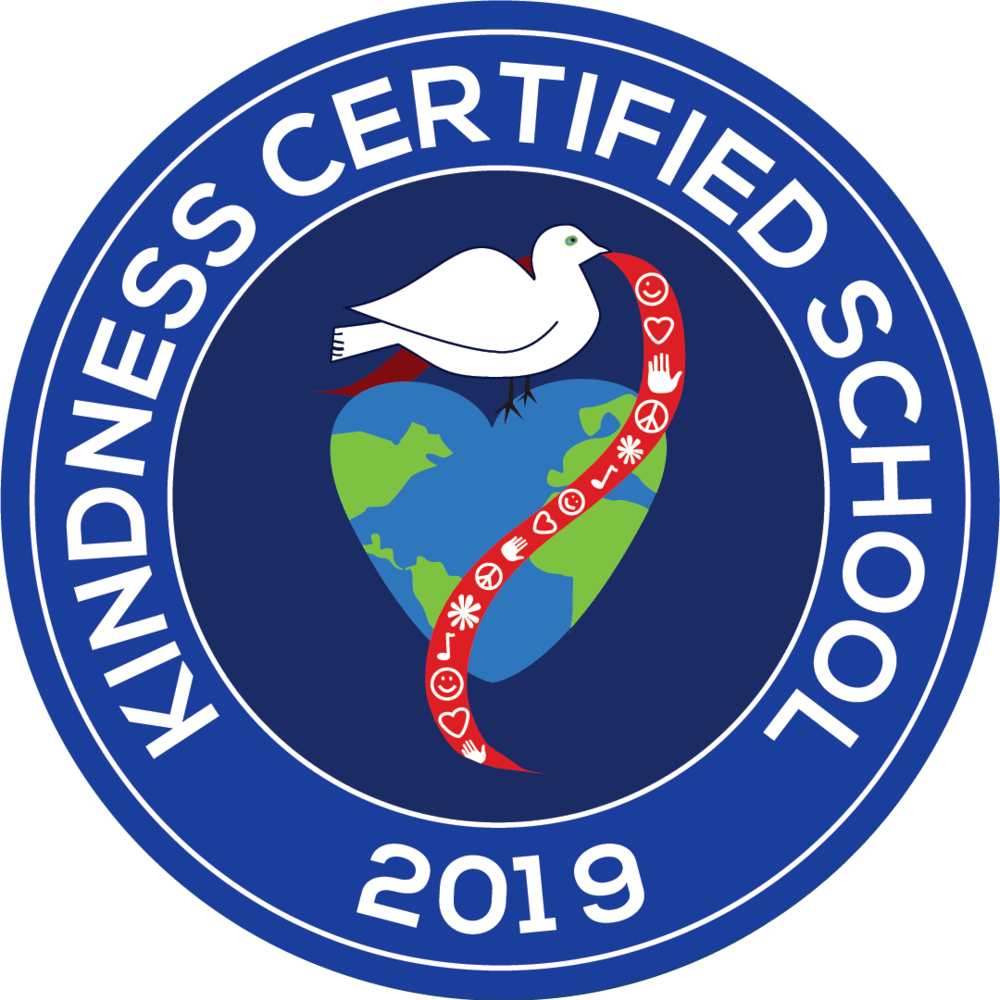 2019 kindness certified school badge