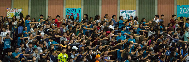 2021 Link Crew Rally! 650 New Cougars!