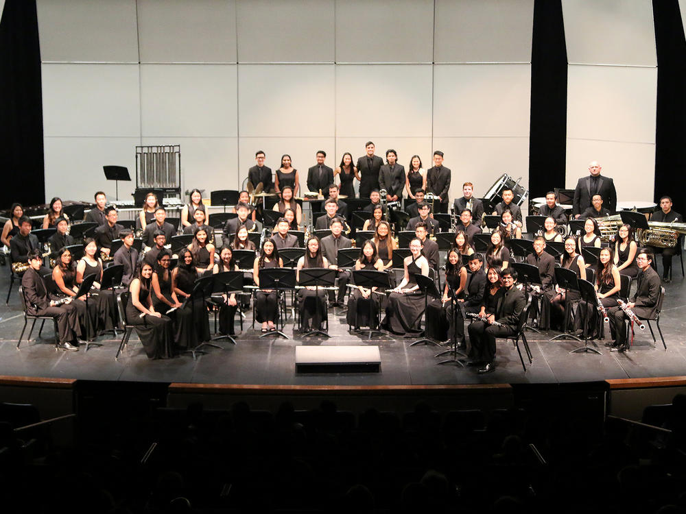 EVHS Wind Ensemble at Fall Concert