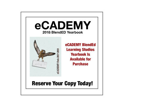 2018 eCADEMY BlendED Learning Studios Yearbook is Available for Purchase