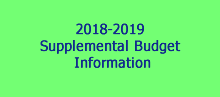 18-19 Summplemental Budget