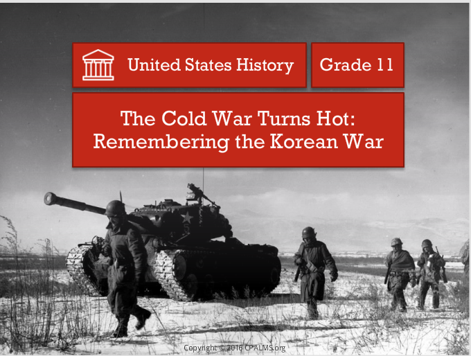 Remember Korean War