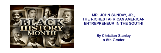 Black History Month by Christian Stanley