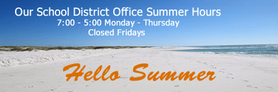 Our Summer Hours 7 00 - 5 00 Monday - Thursday