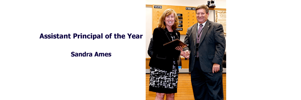 Assistant Principal of the Year, Sandra Ames