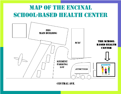 Map of EHS