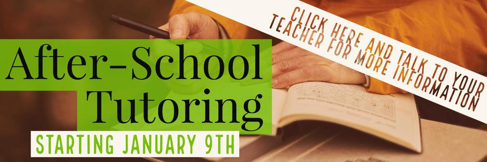 After-school tutoring information click here