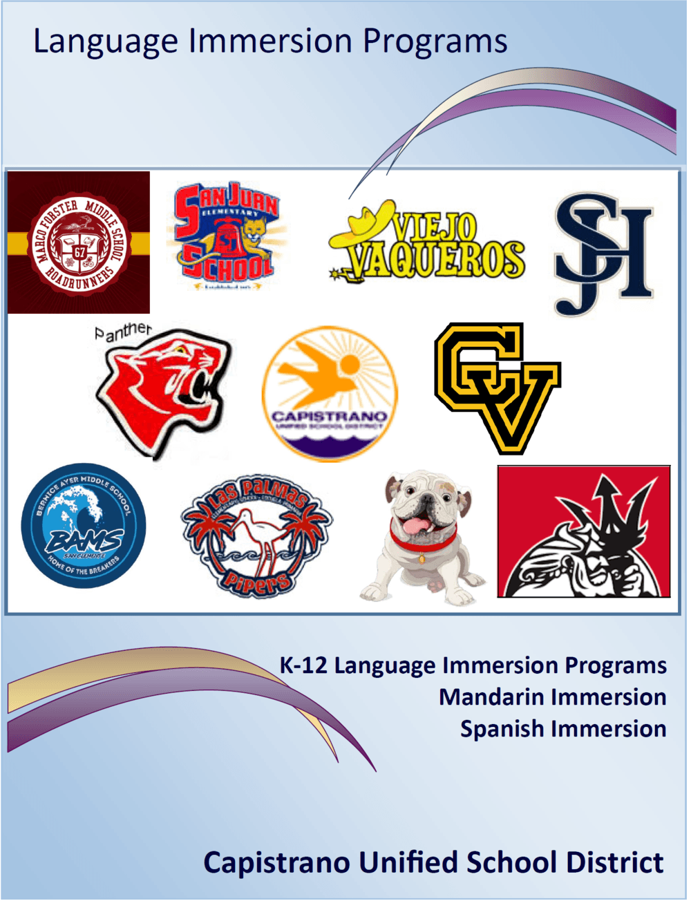Language Immersion Handbook English