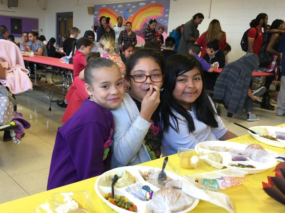 Thanksgiving Students at Emerson