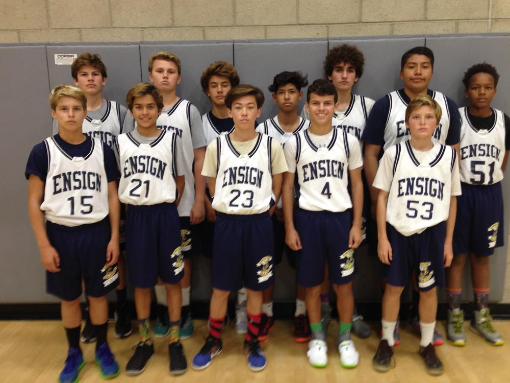 Ensign volleyball team