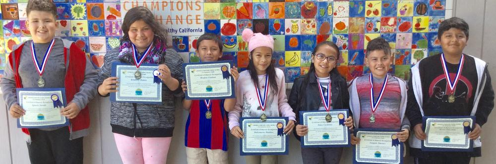 Congratulations fourth and fifth grade students that Reclassified in February  2017