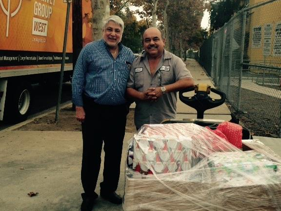 Thank You Garvey Group West for donating toys to our Pre-K and Kinder Students