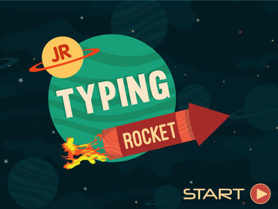 jr typing rocket