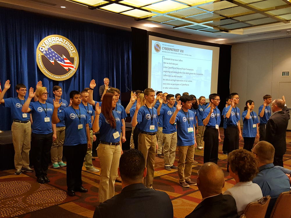Captains of Top 24 teams in the country taking oath of ethics
