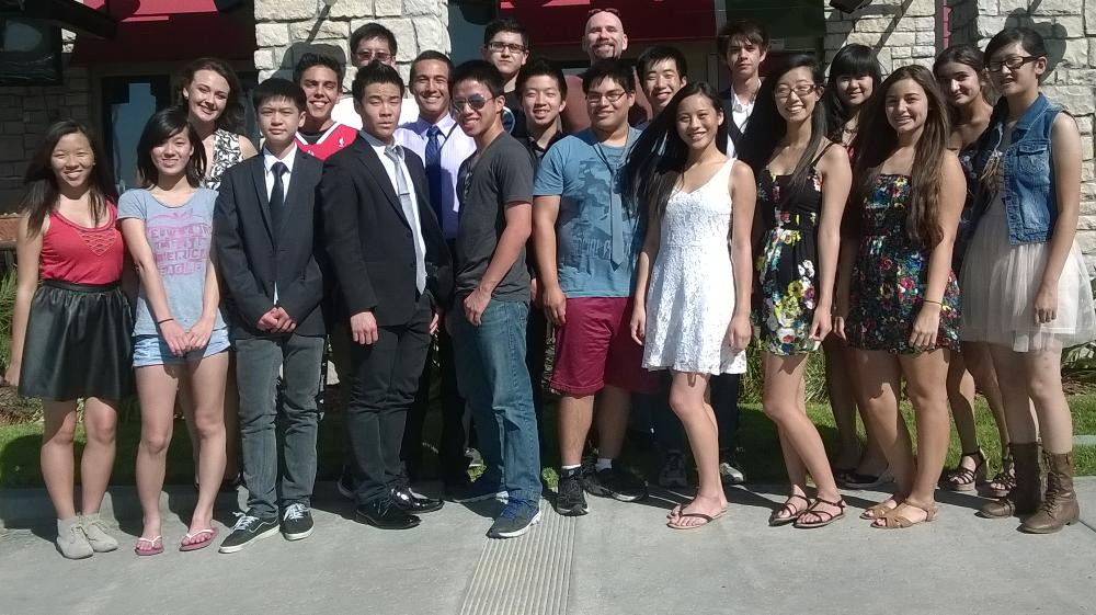 Mock Trial Team 2014--End of Year Banquet