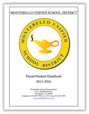 MUSD 2015-2016 Parent Student Handbook cover