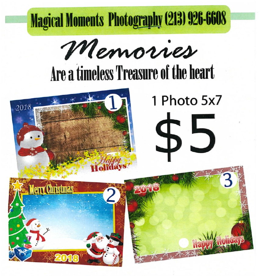 Holiday Picture Fundraiser