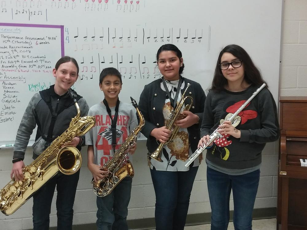 Garfield STEM supports the arts!
