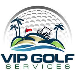 VIP Golf Services logo