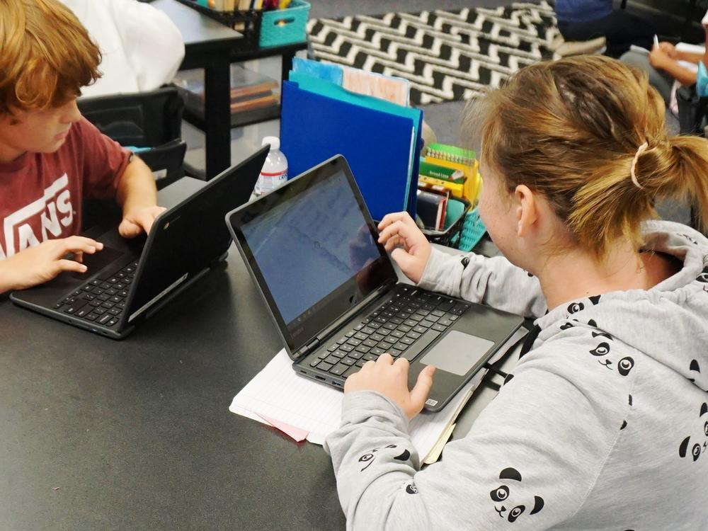 Chromebooks in 4th and 5th grades