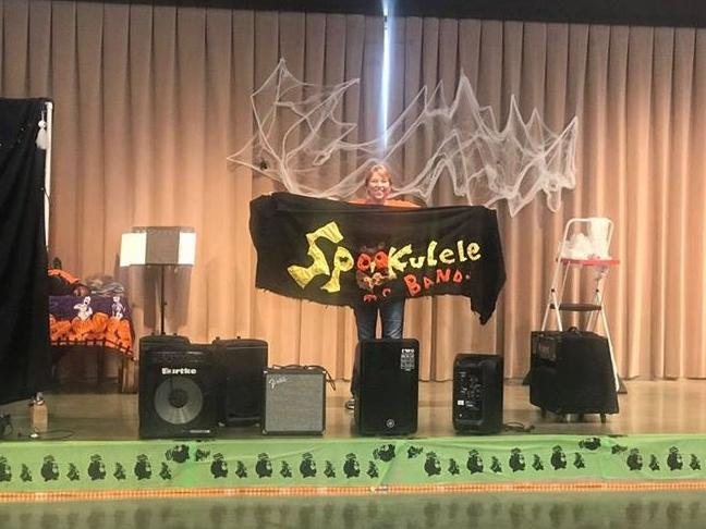 Spookele Band with Mrs. Huggins