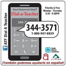 dial-a-teacher  phone 505-344-3571  1-800-947-8839