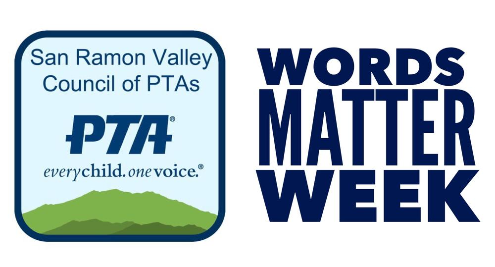 PTA and Words Matter Week logo