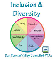 PTA Inclusion and Diversity logo