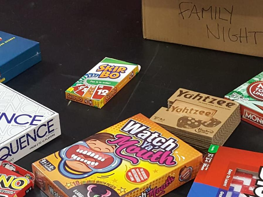 Gale Ranch PTSA sponsored prizes for Family First Week - Trivia Night