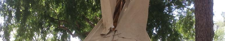 people who put up tipi