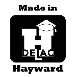 DELAC Made in Hayward Logo